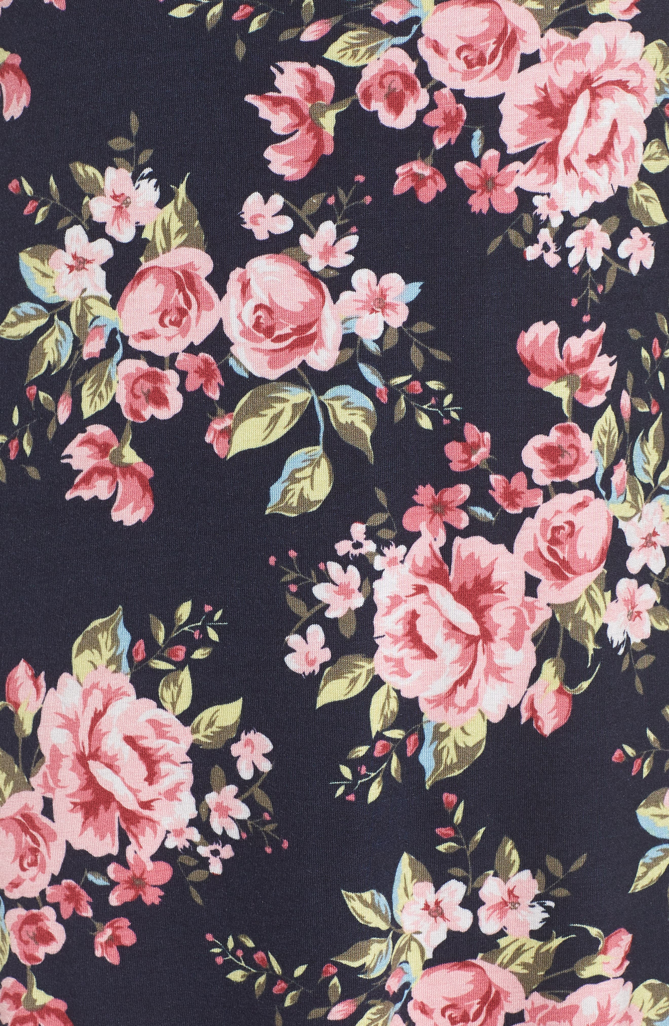 Ahna Chemise,                             Alternate thumbnail 4, color,                             Dynasty Floral