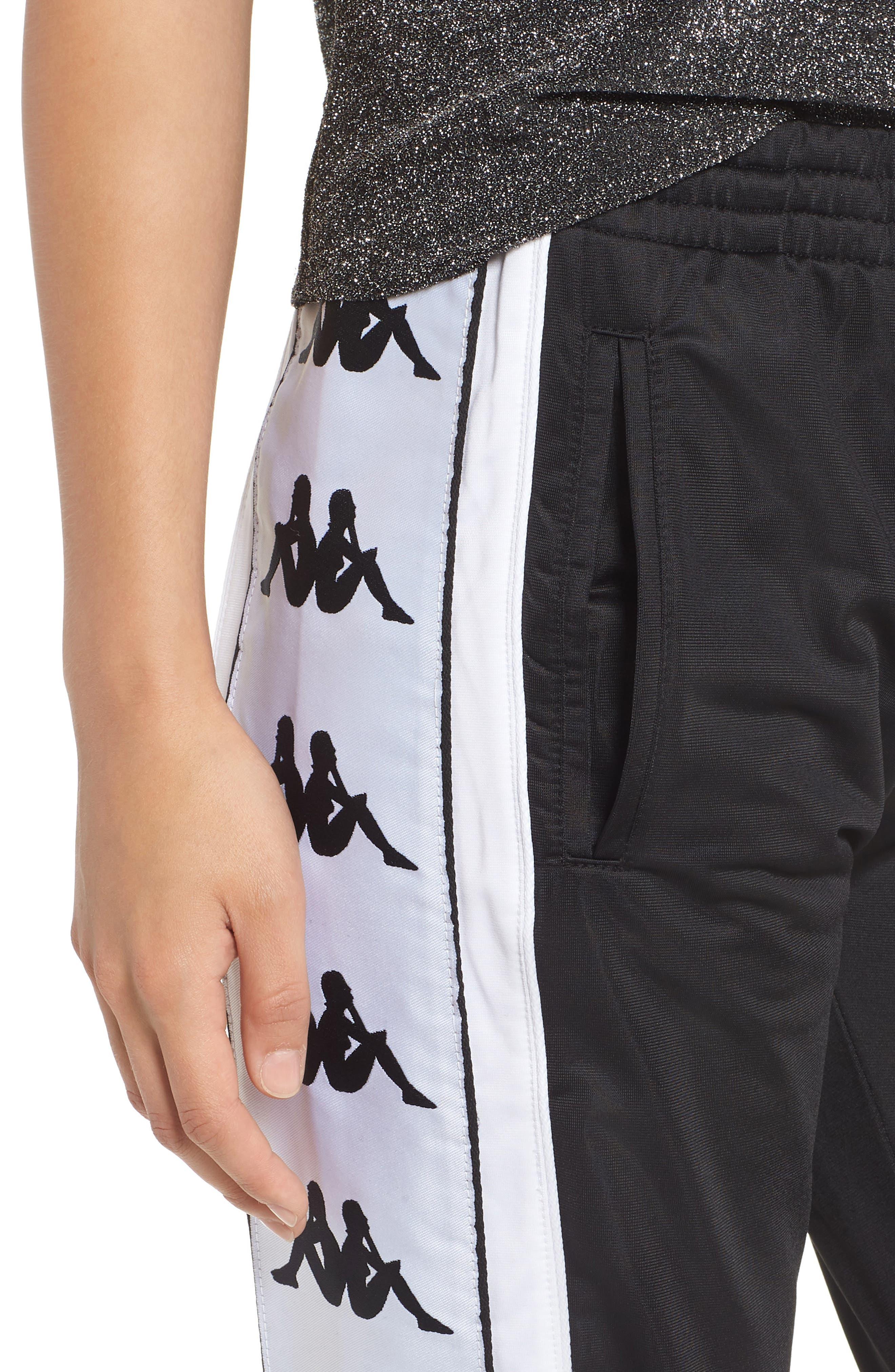 222 Banda 10 Arsis Pants,                             Alternate thumbnail 4, color,                             Black-White