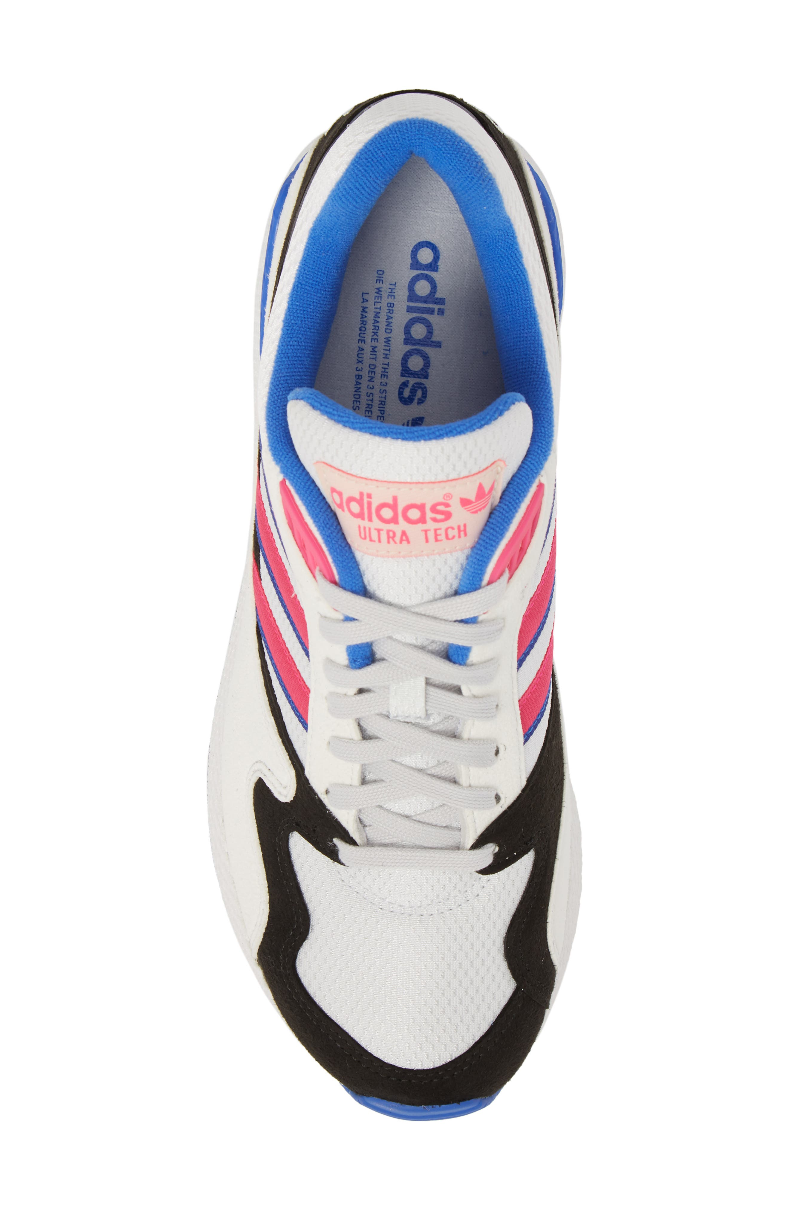 Forest Grove Ultra Tech Sneaker,                             Alternate thumbnail 4, color,                             Crystal White/ Pink/ Black