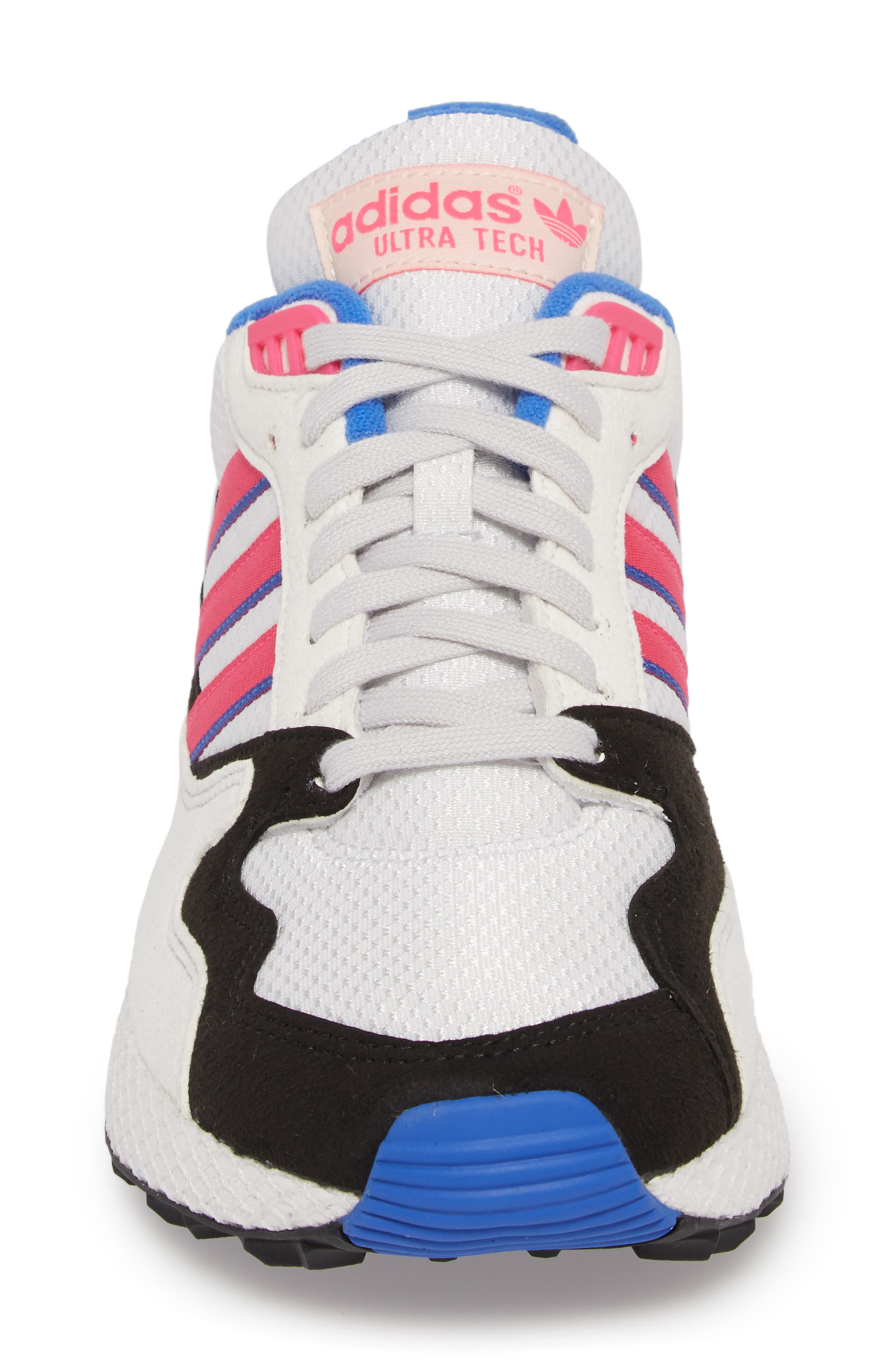 Forest Grove Ultra Tech Sneaker,                             Alternate thumbnail 5, color,                             Crystal White/ Pink/ Black