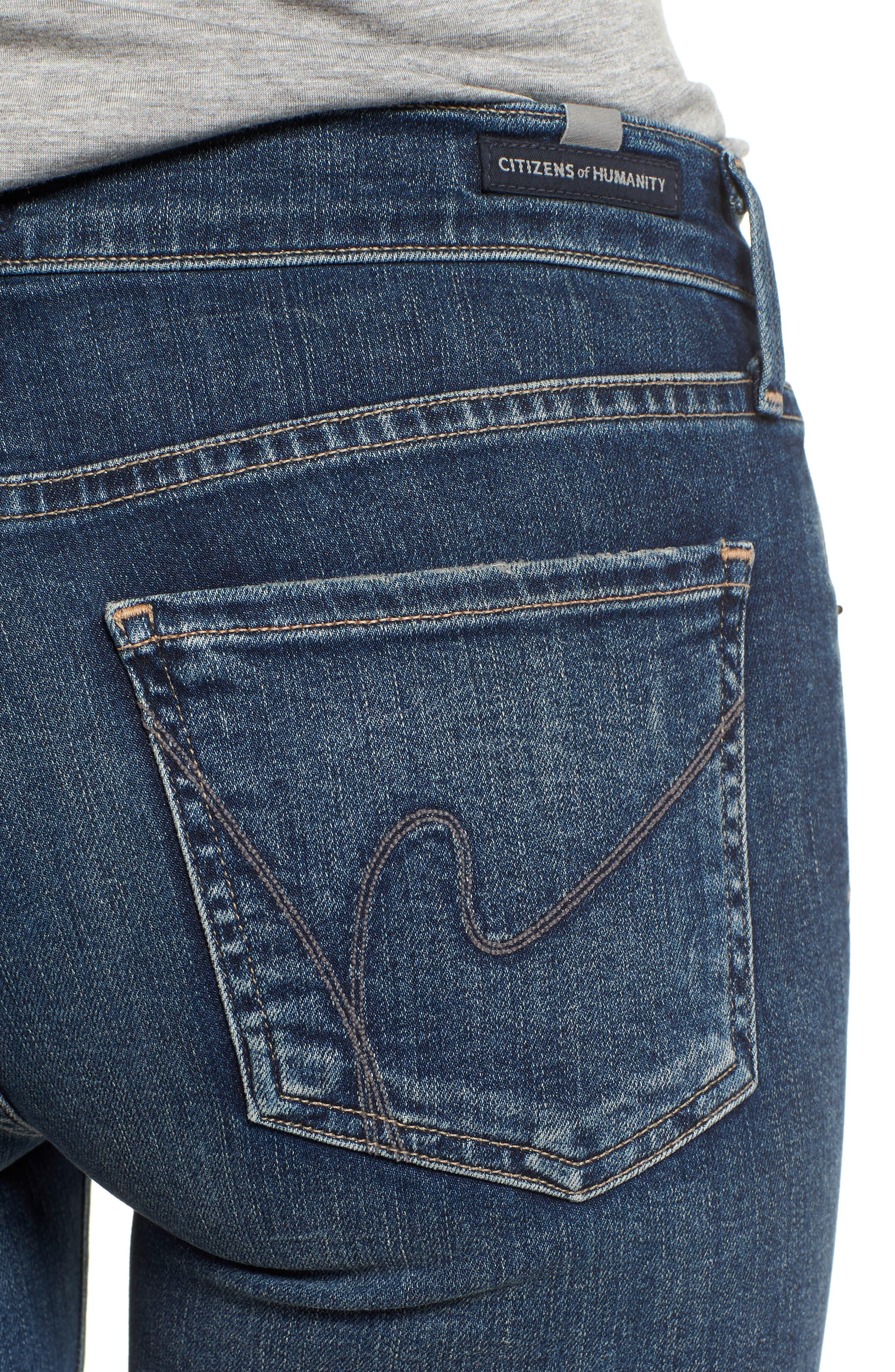 Ankle Skinny Jeans,                             Alternate thumbnail 7, color,                             Modern Love