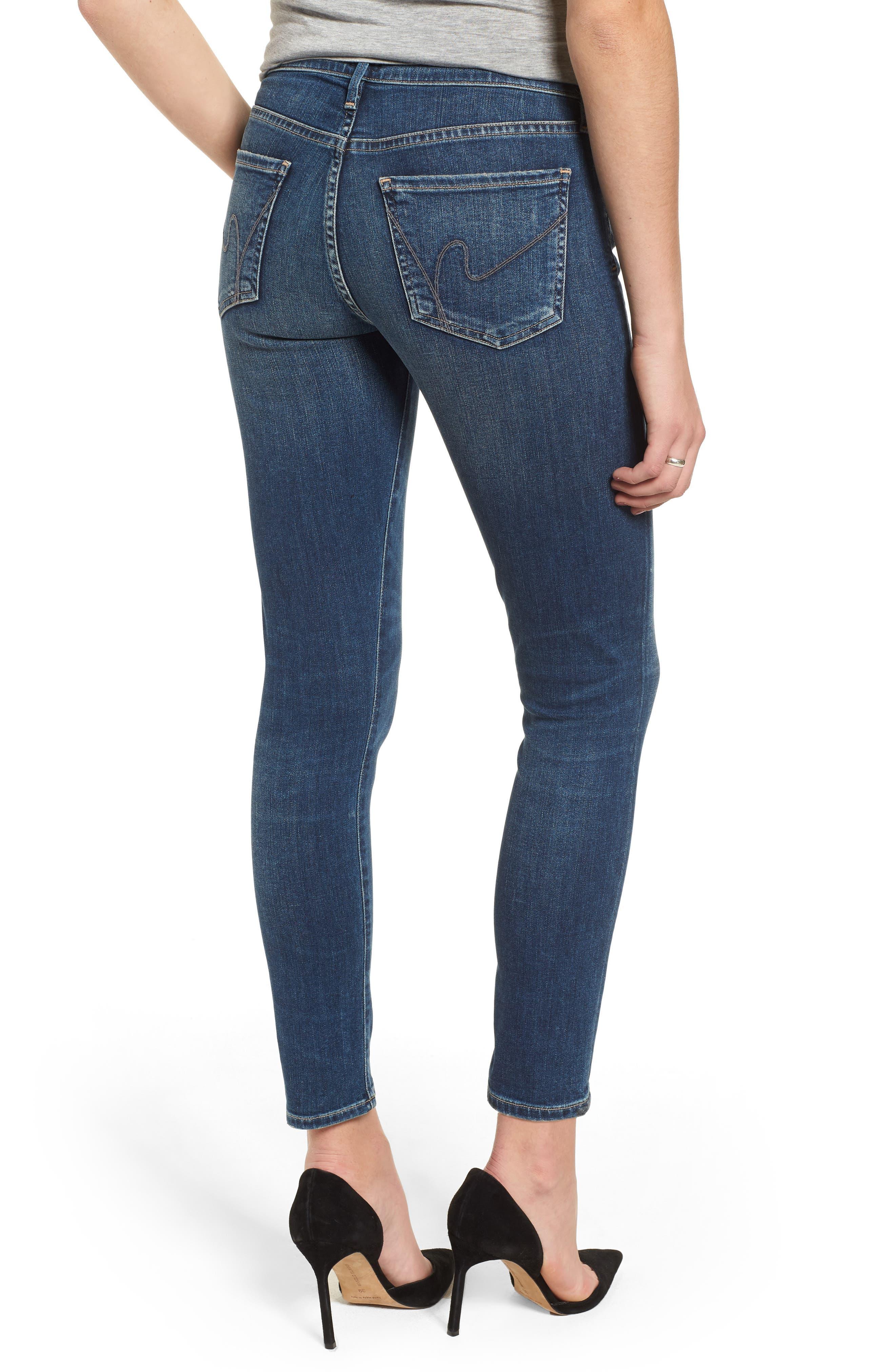 Ankle Skinny Jeans,                             Alternate thumbnail 2, color,                             Modern Love