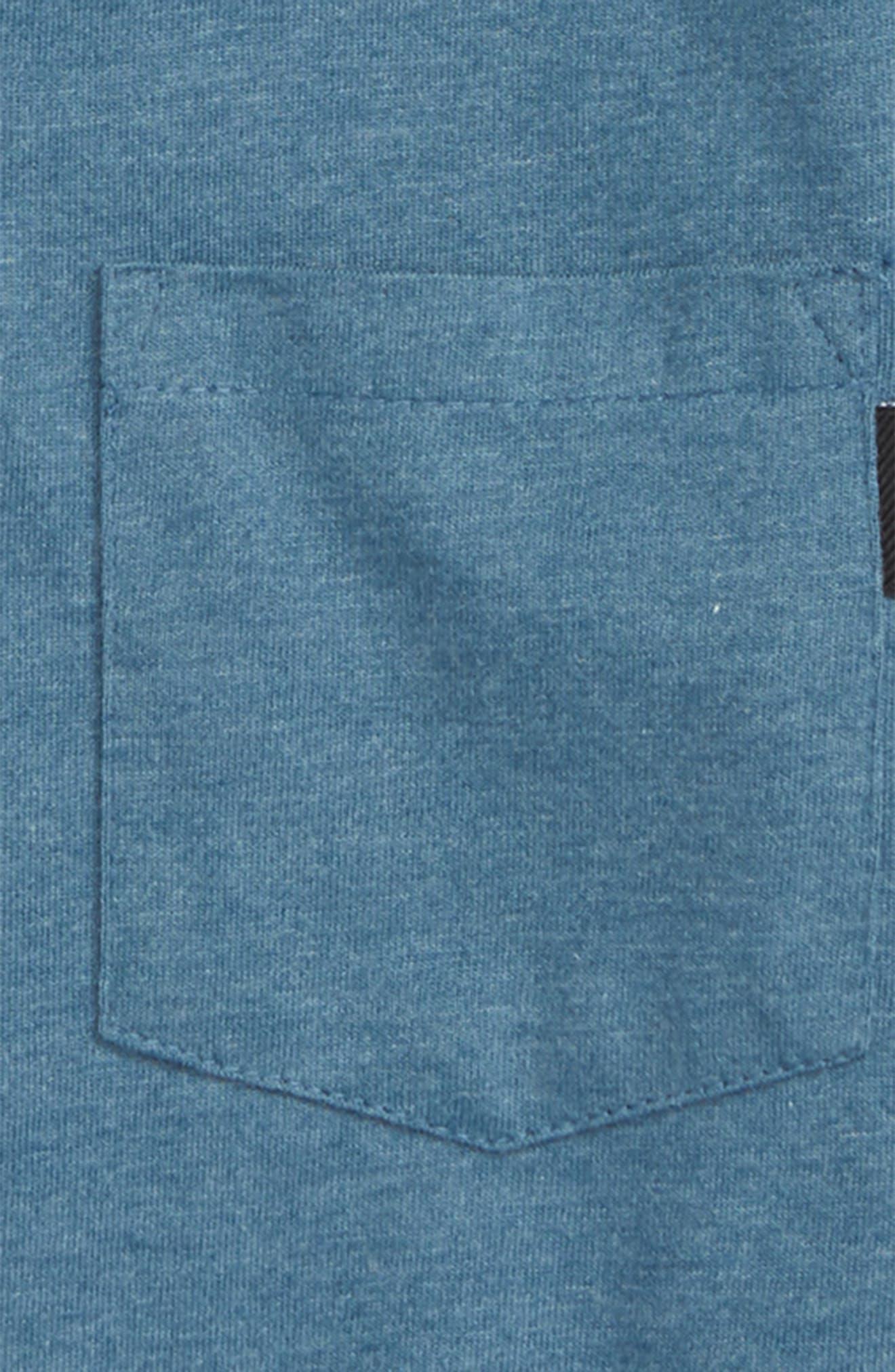 Fraser Pocket Polo,                             Alternate thumbnail 2, color,                             Deep Teal