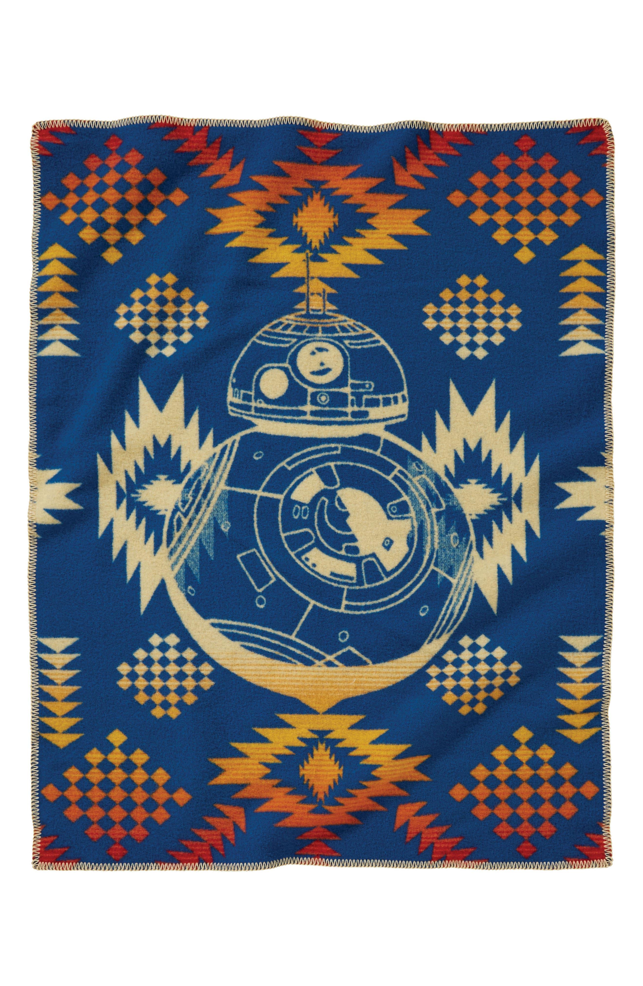 Star Wars<sup>™</sup> BB-8 Baby Blanket,                             Alternate thumbnail 2, color,                             Multi