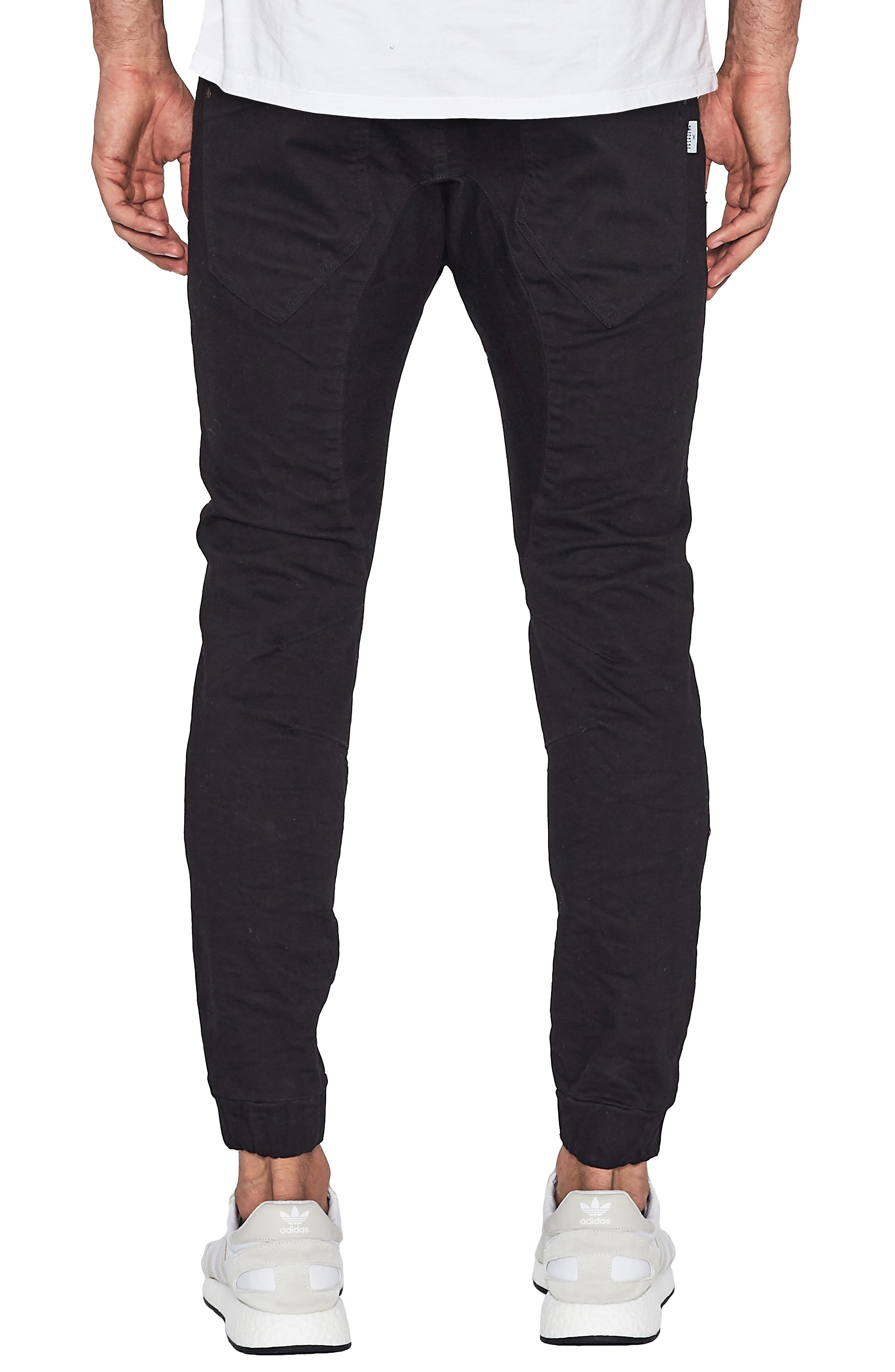 Hellcat Slim Fit Pants,                             Alternate thumbnail 2, color,                             Jet Black