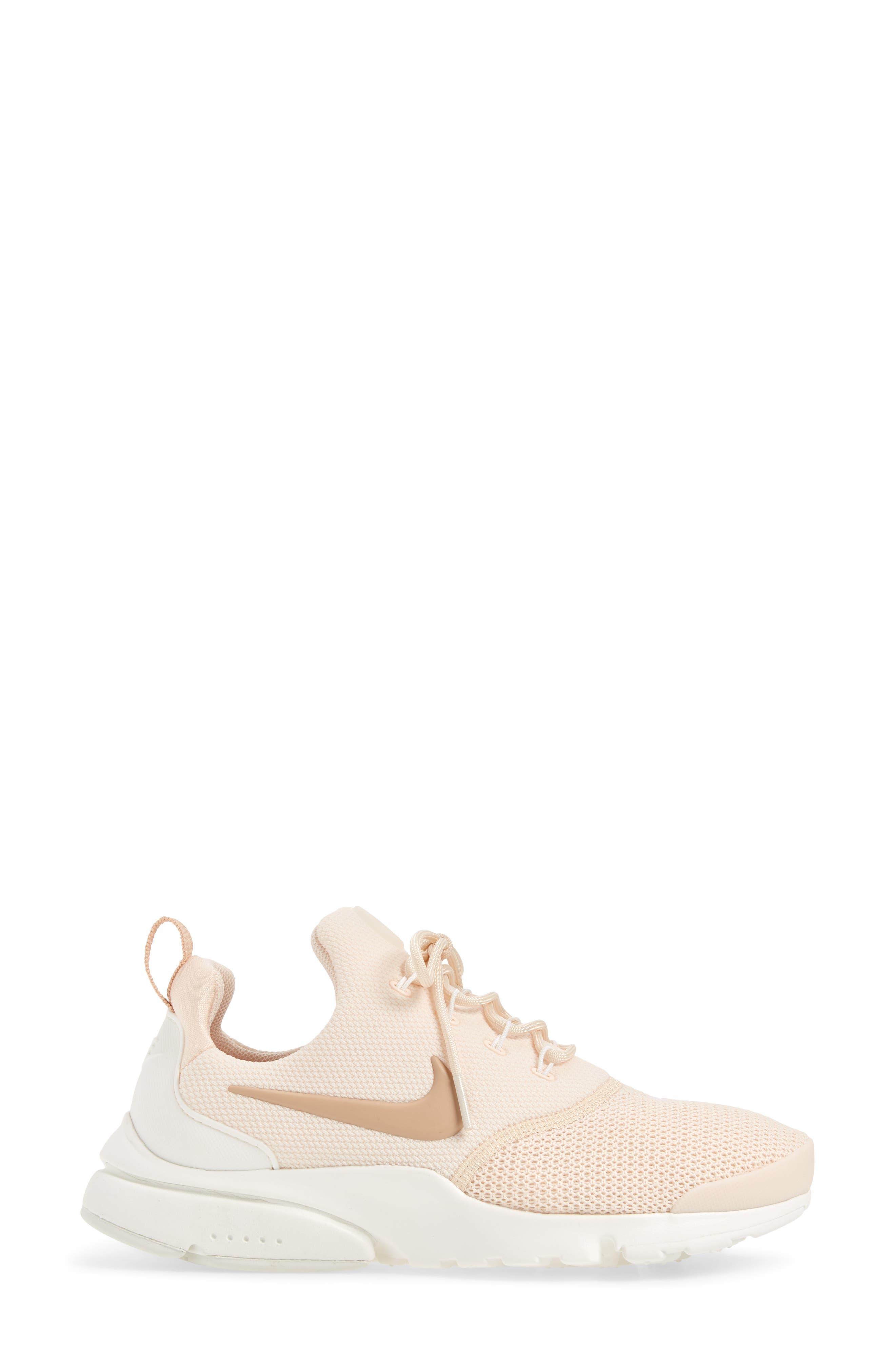 Presto Fly Sneaker,                             Alternate thumbnail 6, color,                             Guava Ice/ Beige/ Summit White