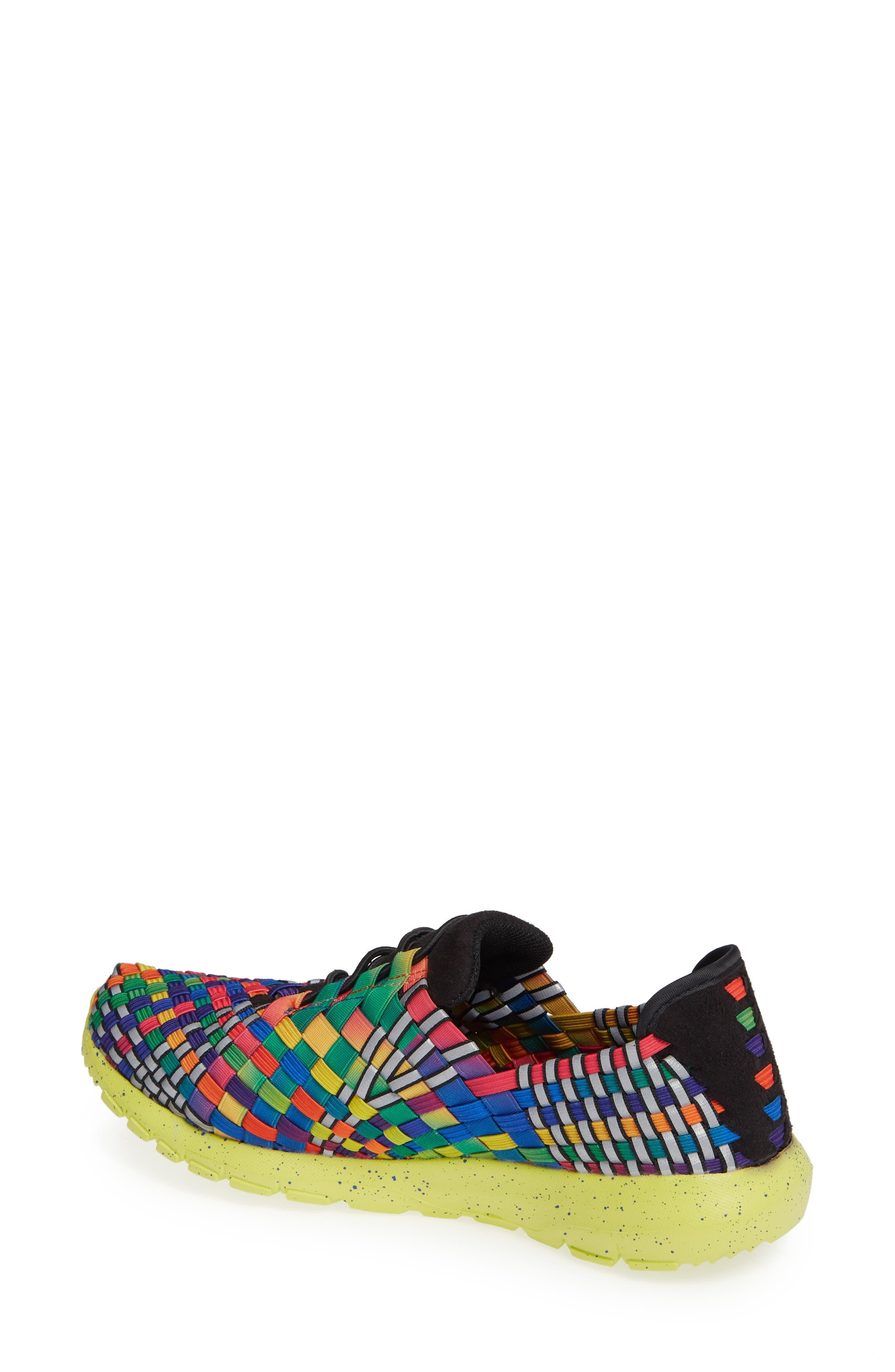 Runners Victoria Sneaker,                             Alternate thumbnail 2, color,                             Black Multi Reflective Fabric