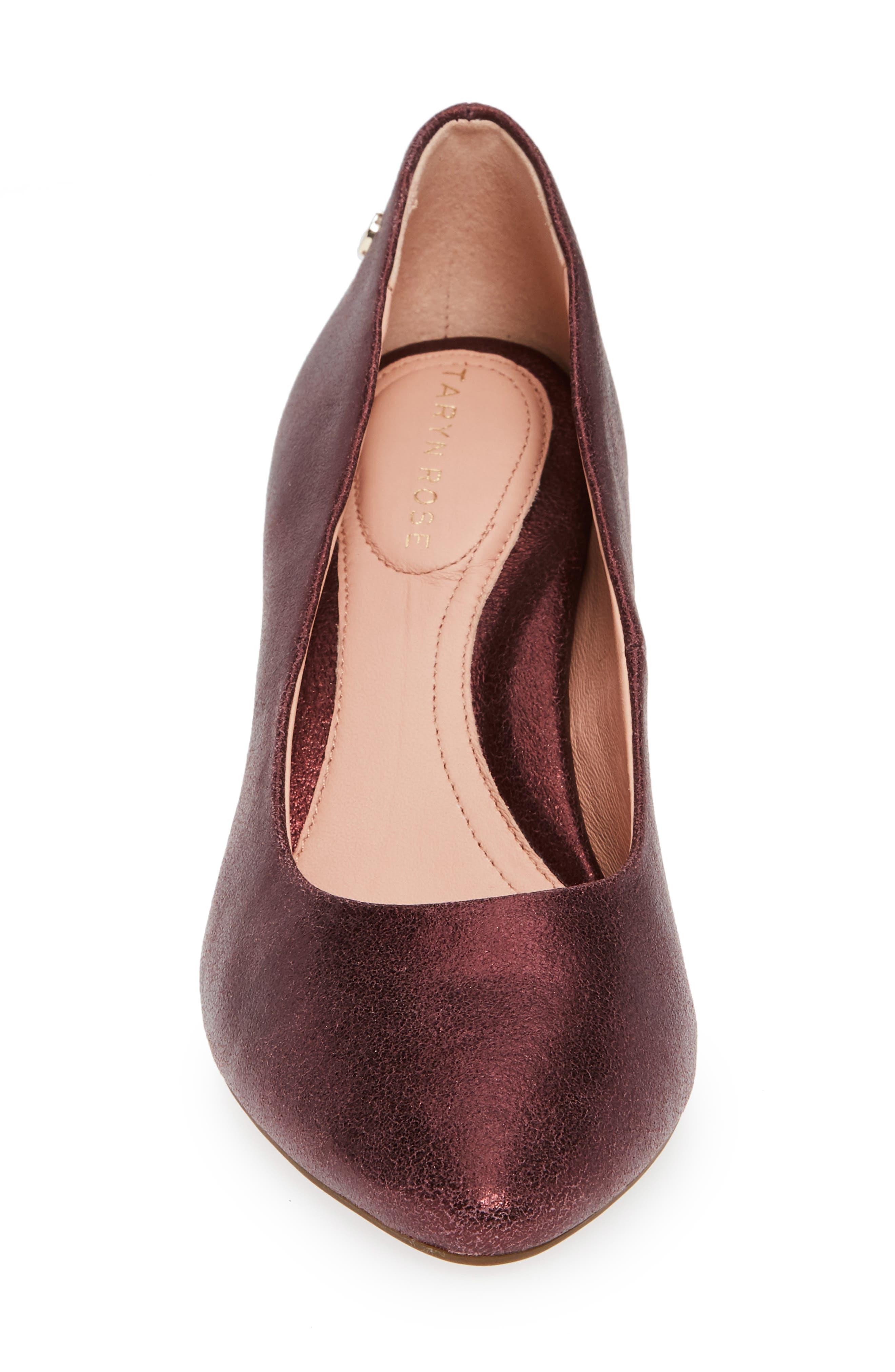 Tamara Pump,                             Alternate thumbnail 6, color,                             Fig Leather