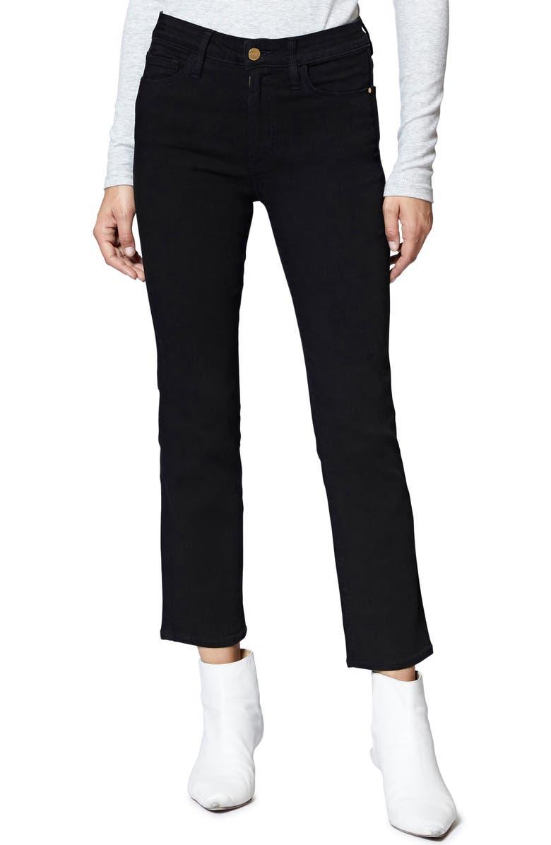 Modern Crop Straight Leg Jeans