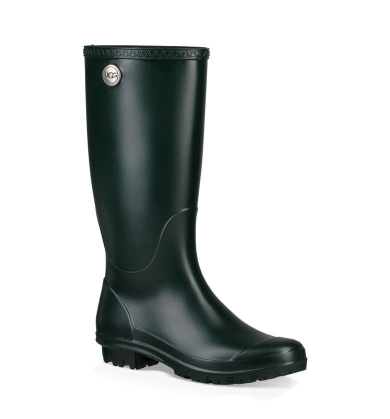 907327e13f5 Ugg Shelby Matte Waterproof Rain Boot, Olive Rubber