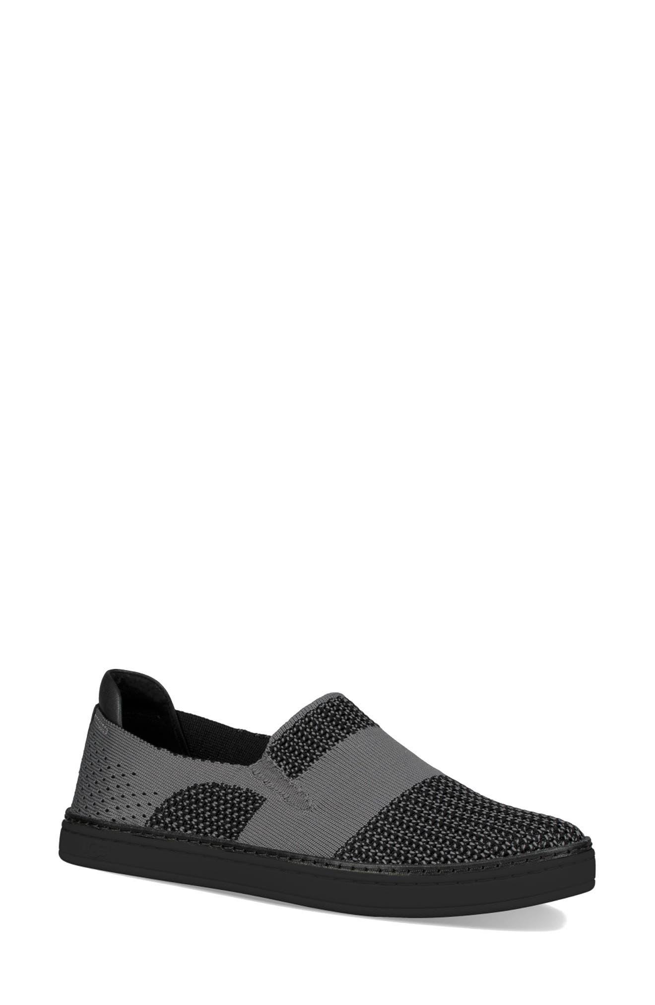 Sammy Sneaker,                         Main,                         color, Black/ Black Fabric