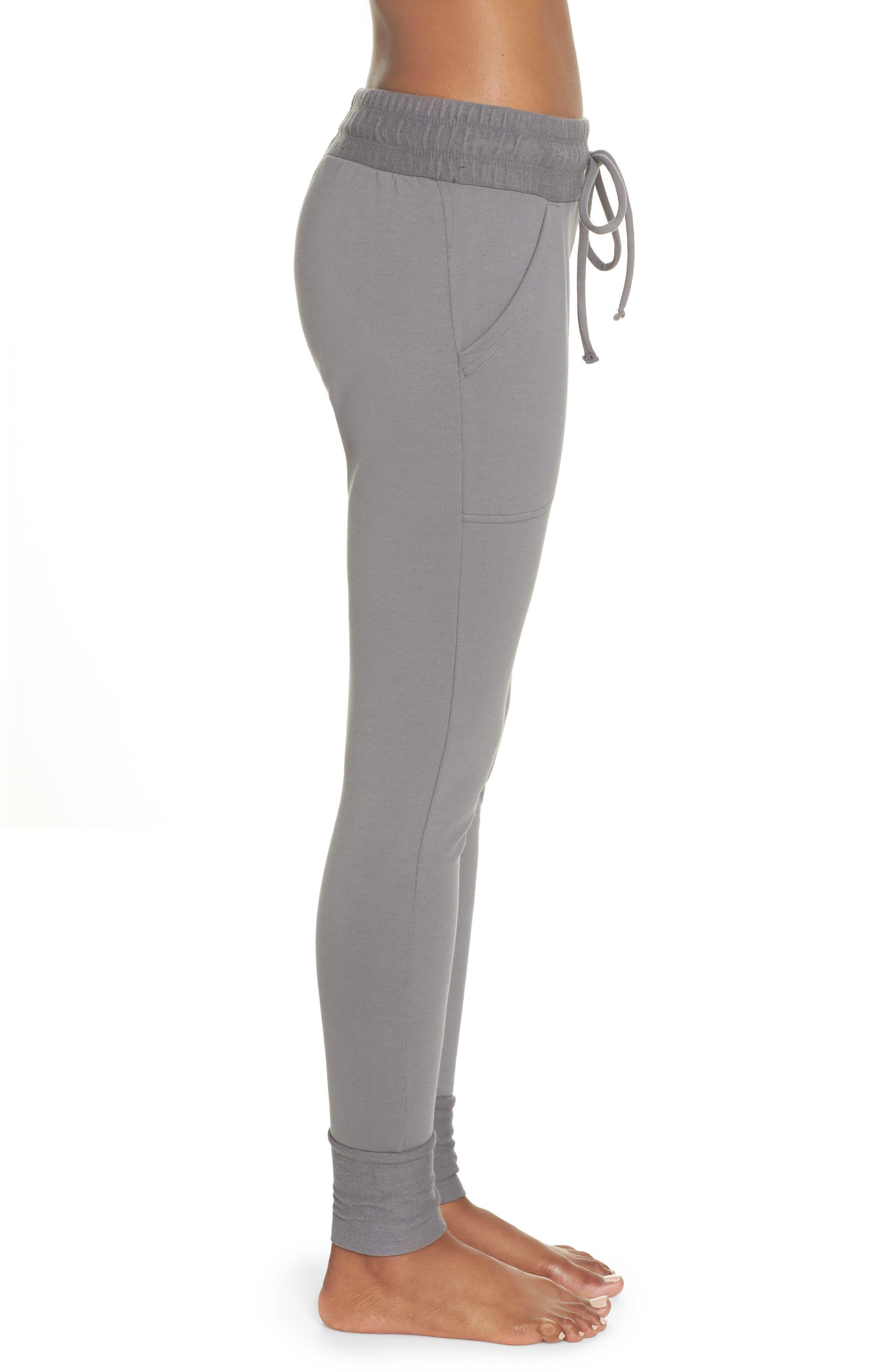 Sunny Skinny Sweatpants,                             Alternate thumbnail 3, color,                             Dark Grey