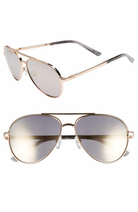 8b66e38dba Ted Baker London 58mm Aviator Sunglasses