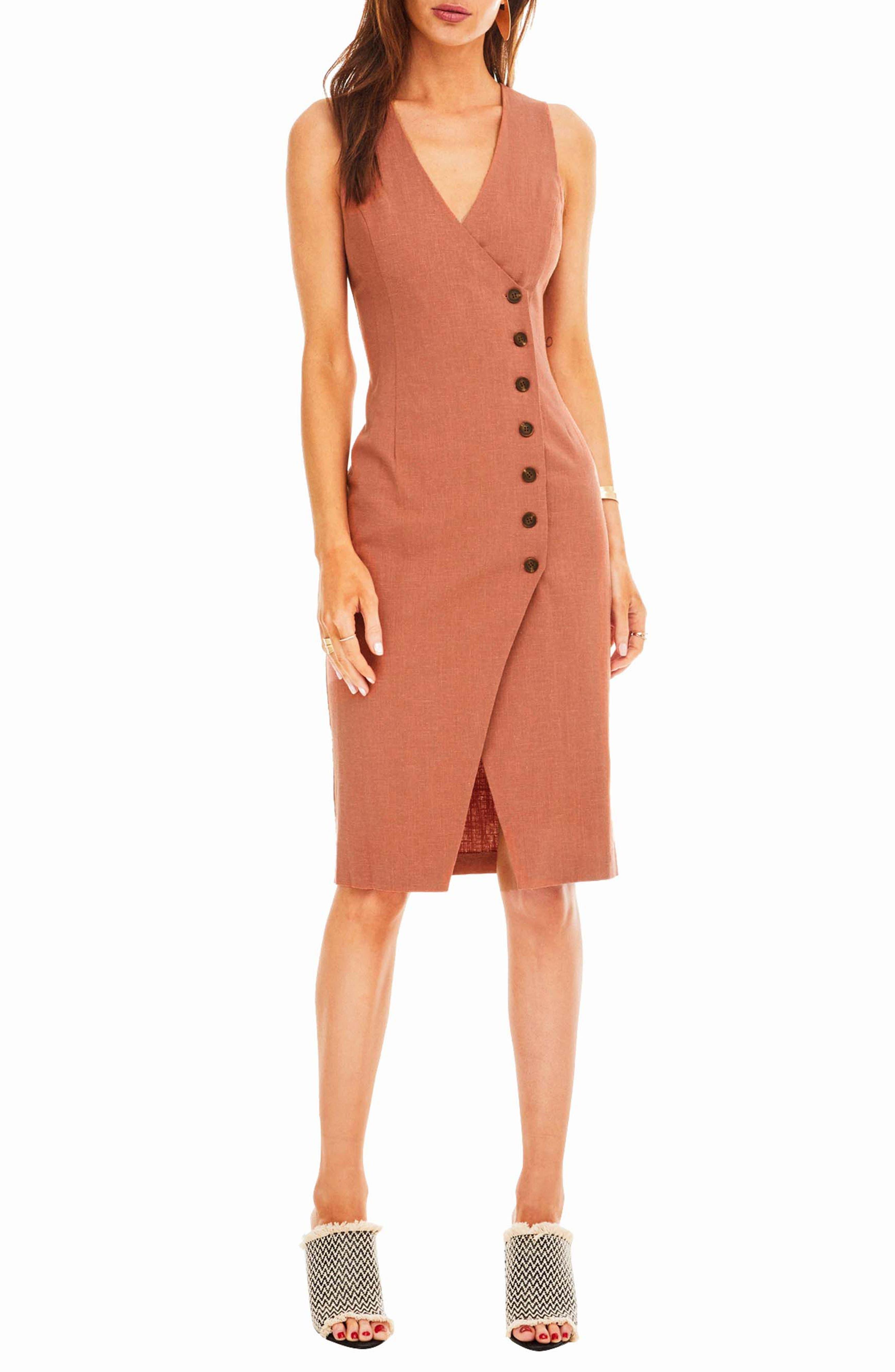 Demi Dress,                         Main,                         color, Mauve