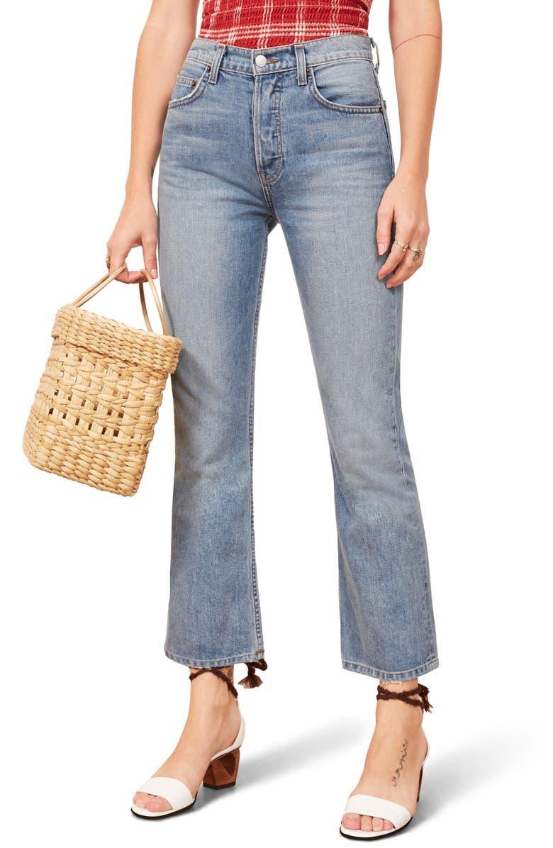 Jordi Ankle Kick Flare Jeans