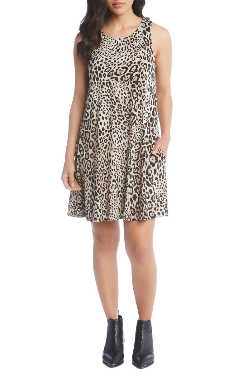 Chloe Leopard Print Sleeveless Dress