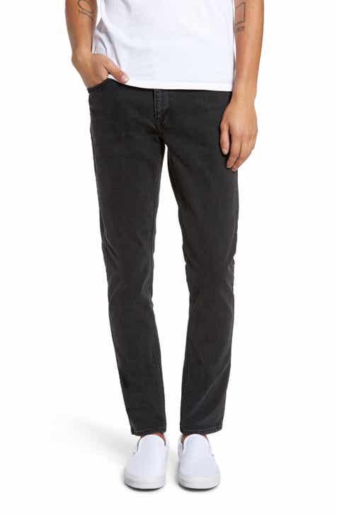 58b5baab076fe Dr. Denim Supply Co. Clark Slim Straight Leg Jeans (Black)