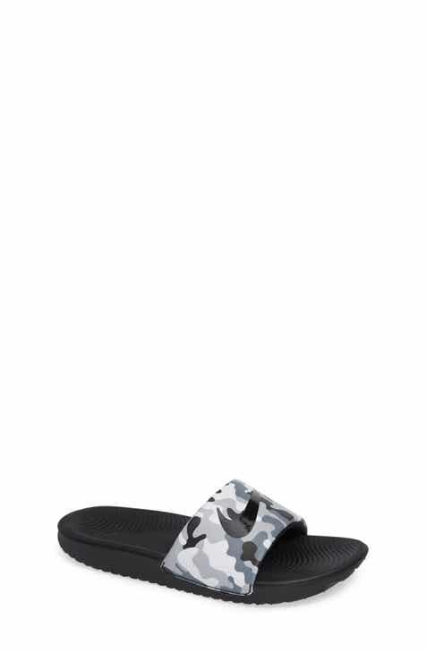 1446d5e89baf6 Nike Kawa Slide Sandal (Toddler