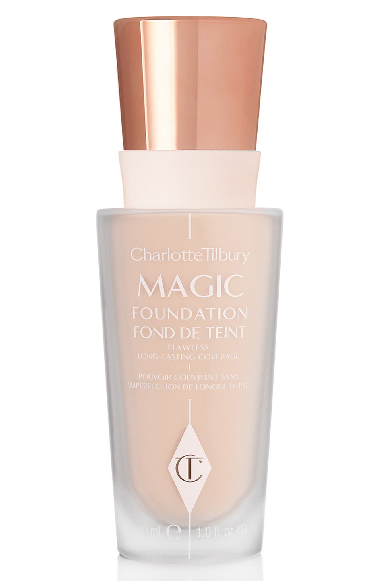 CHARLOTTE TILBURY MAGIC FOUNDATION BROAD SPECTRUM SPF 15 - 3 FAIR