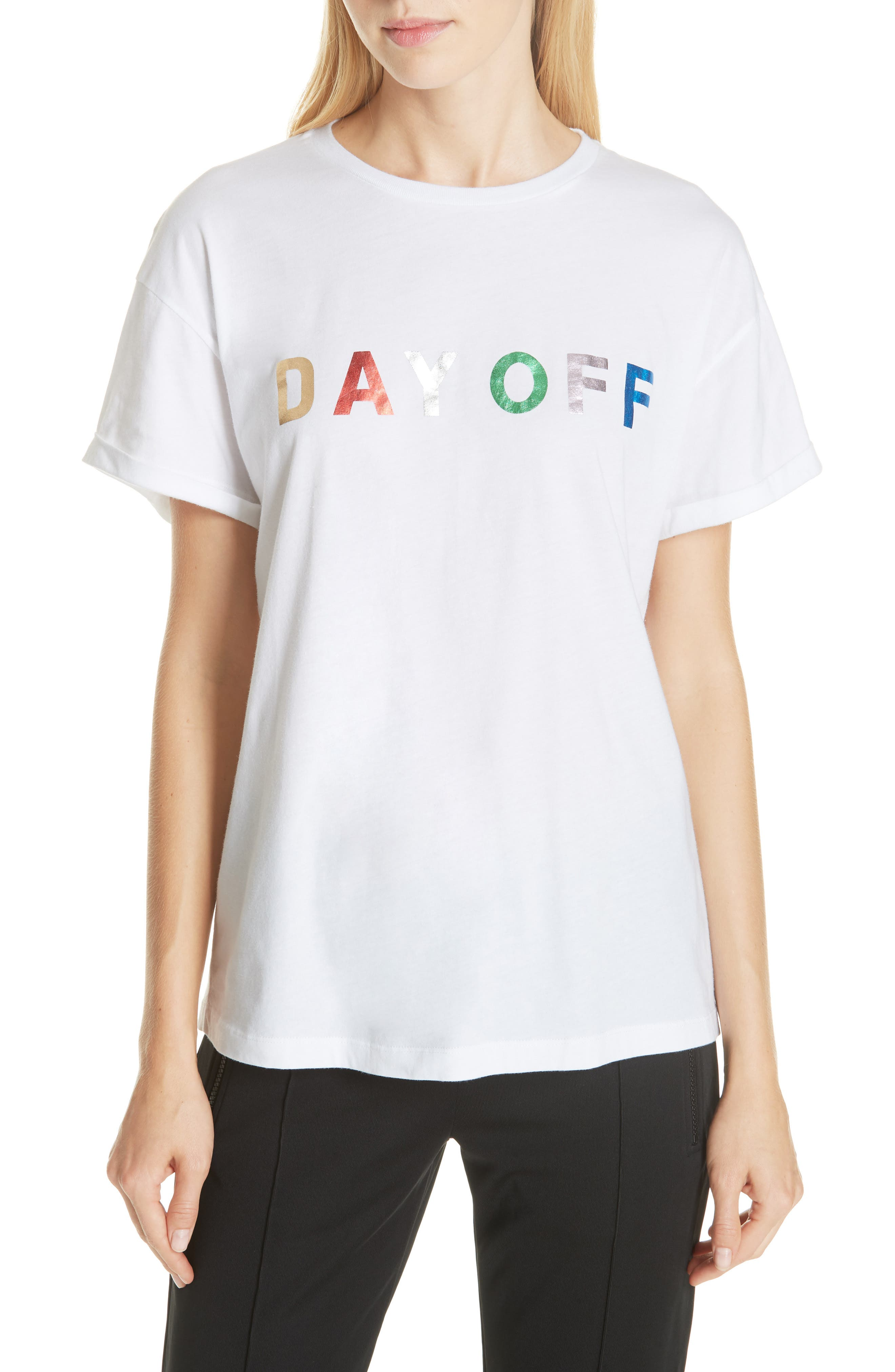 ETRE CECILE DAY OFF TEE
