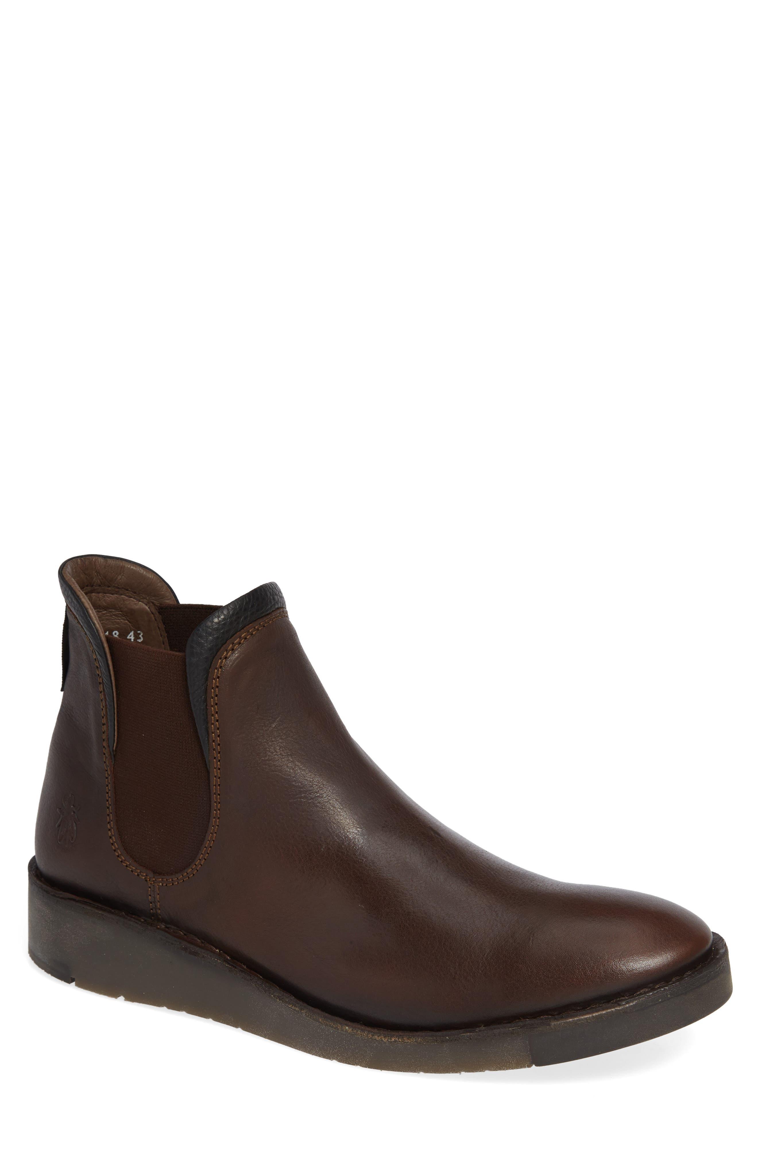 Sern Water Resistant Chelsea Boot,                         Main,                         color, Brown Apso
