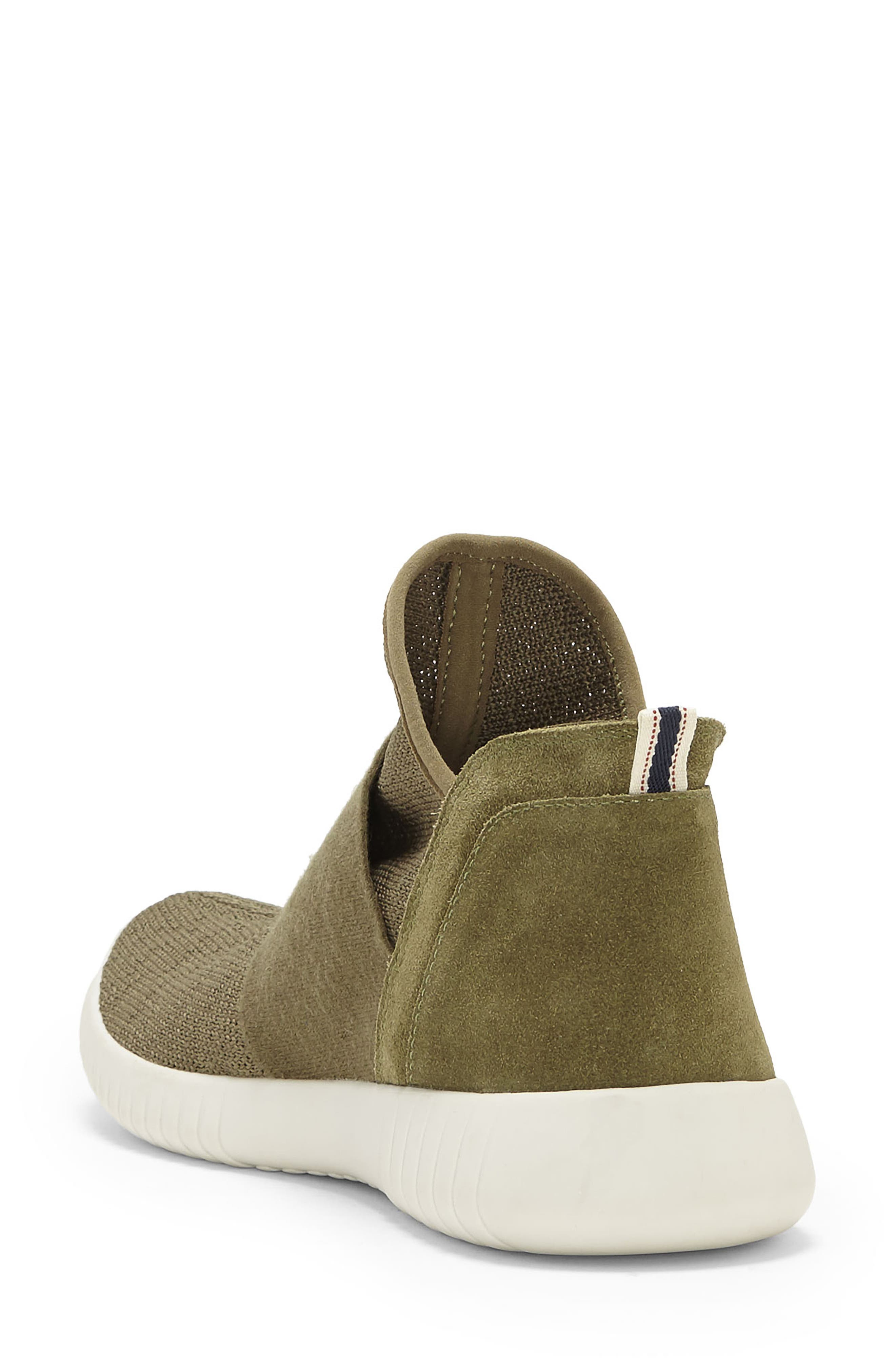 Hachiro High Top Sneaker,                             Alternate thumbnail 2, color,                             Chive Fabric