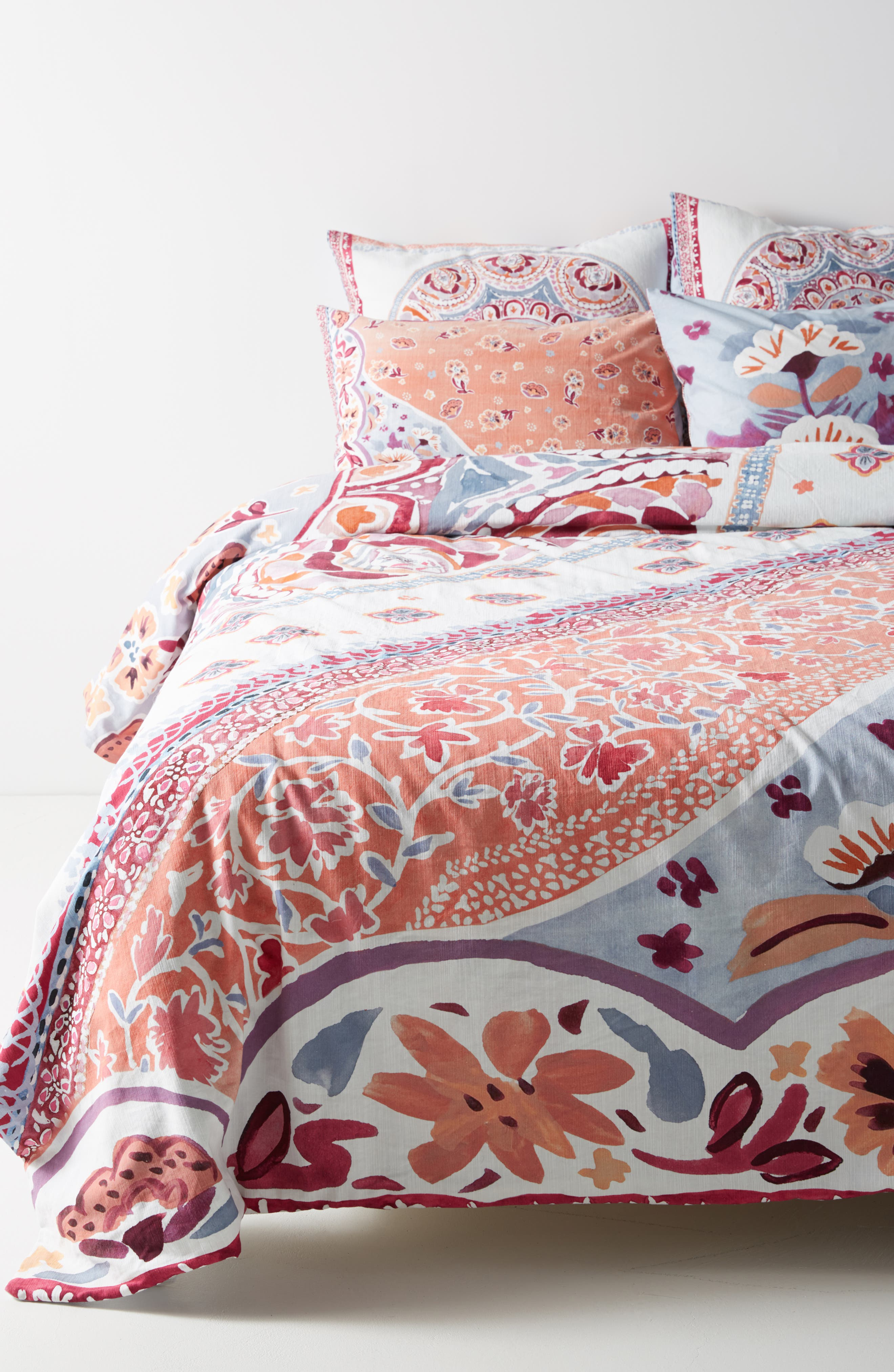 Switchgrass Duvet Cover,                         Main,                         color, Slate
