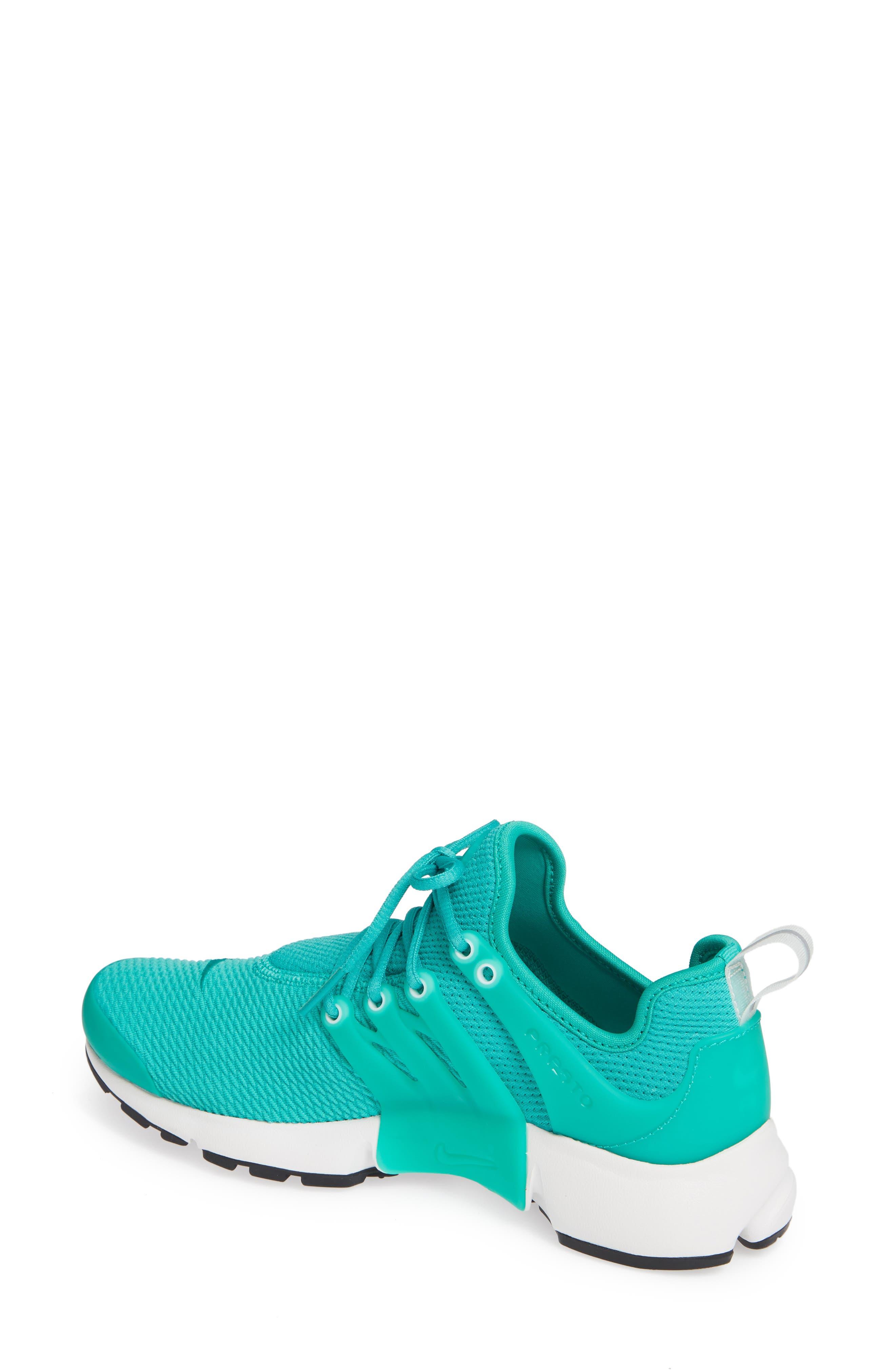 Air Presto Sneaker,                             Alternate thumbnail 2, color,                             Clear Emerald/ Summit White