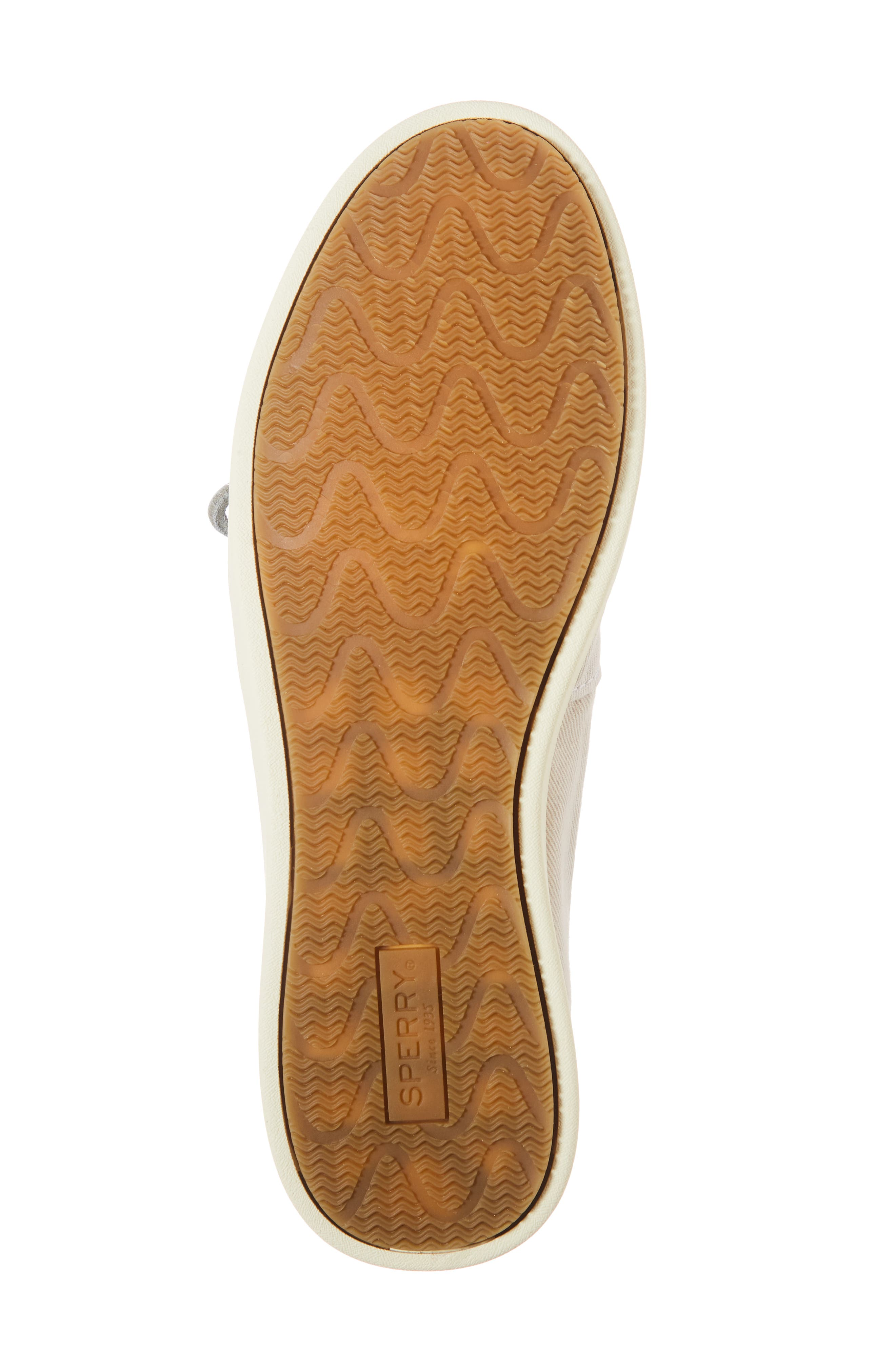 Oasis Boat Shoe,                             Alternate thumbnail 4, color,                             Ivory Canvas
