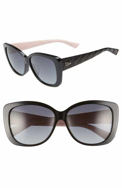 6acf4bd4a7 Dior Lady 59mm Cat Eye Sunglasses