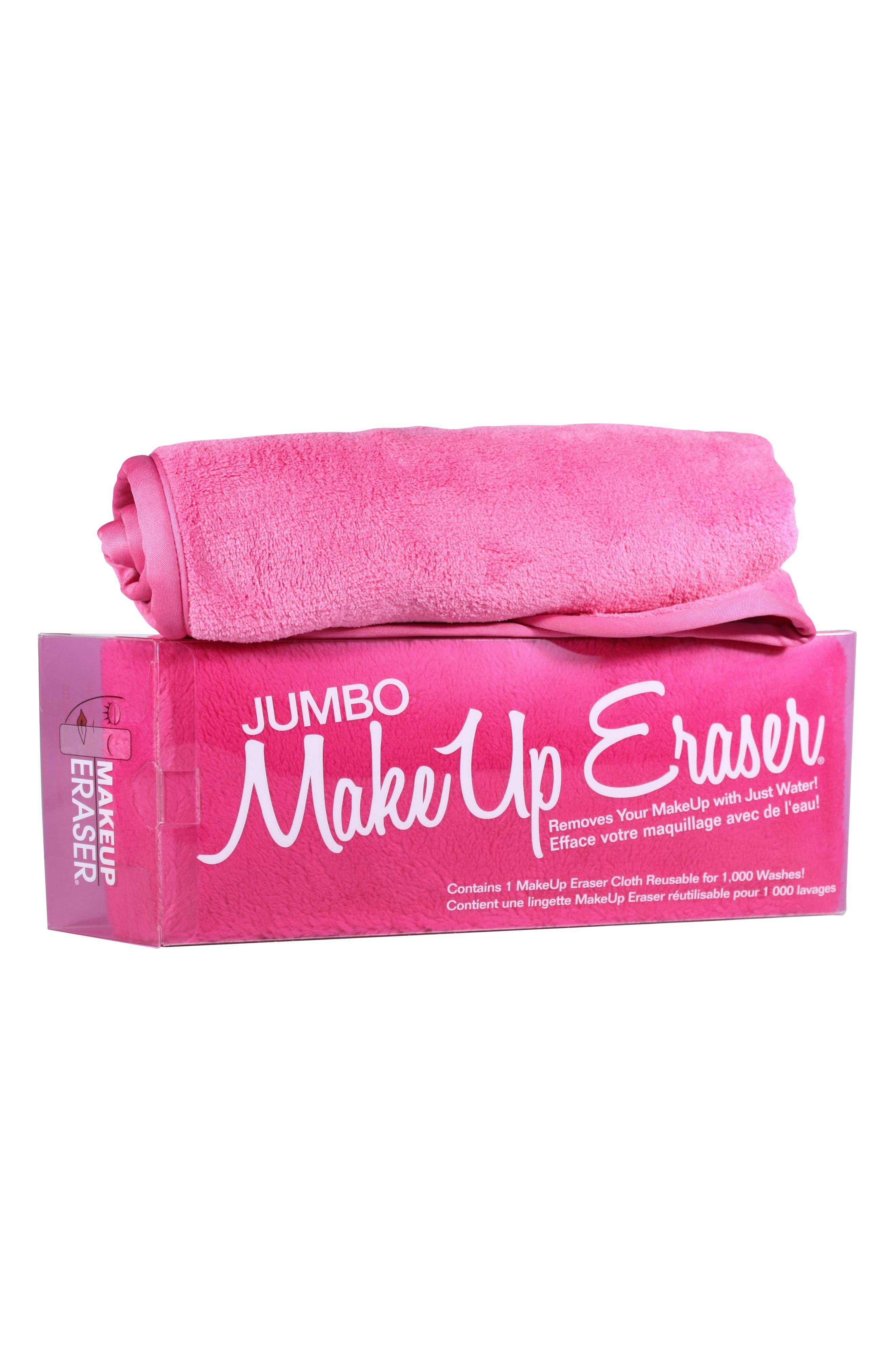 Jumbo Makeup Eraser,                         Main,                         color, No Color