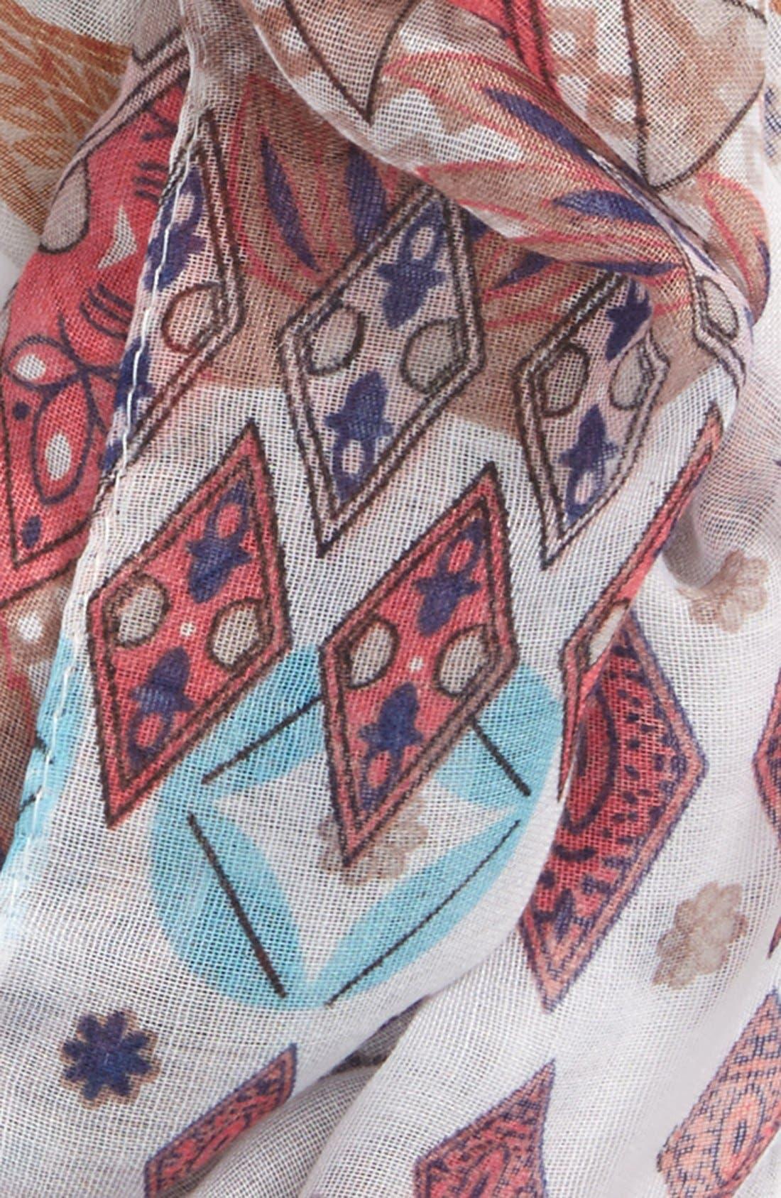 Alternate Image 3  - BP. Diamond Print Infinity Scarf
