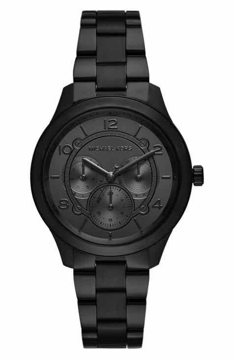 77744ff6522 Michael Kors Runway Multifunction Bracelet Watch