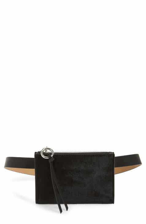 fe7f779d5fa2 Rebecca Minkoff Ava Genuine Calf Hair Belt Bag