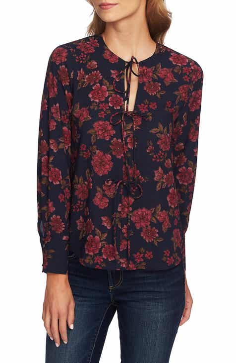 1.STATE Gallant Garden Blouse