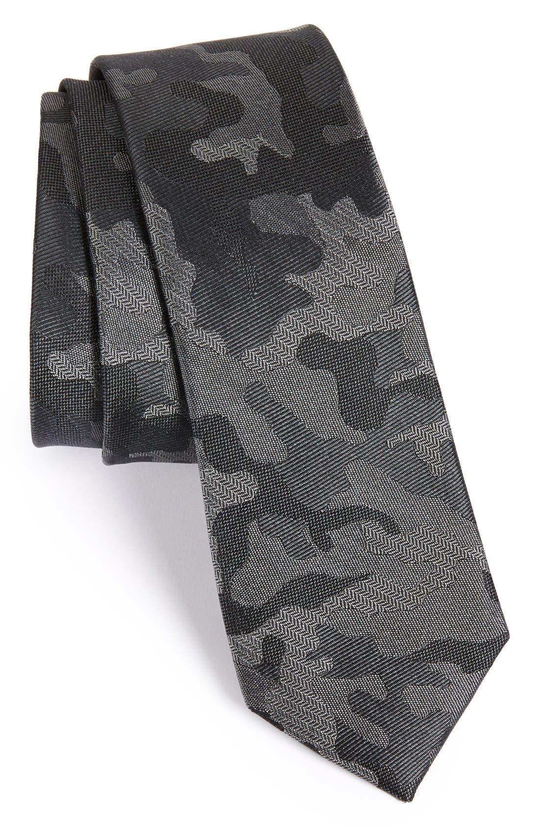 The Tie Bar Camo Silk Tie (Online Only)