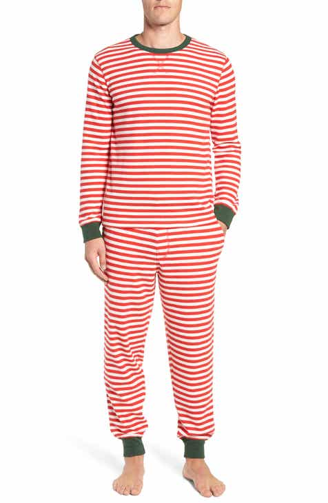 nordstrom mens shop family father thermal pajamas - Nordstrom Christmas Pajamas