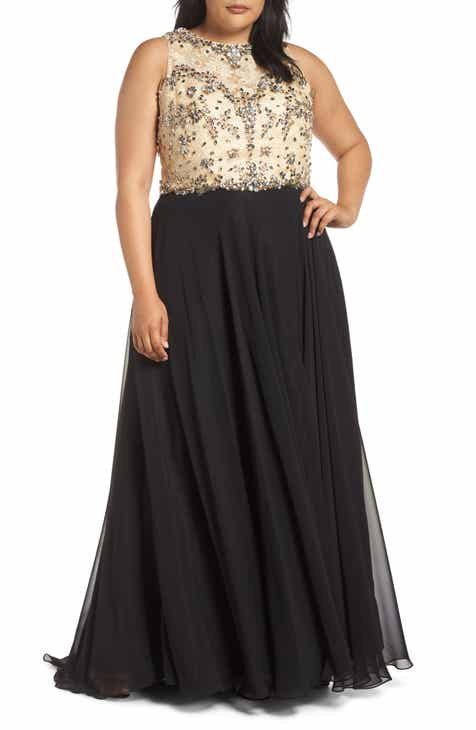 Black Gold Dress Nordstrom