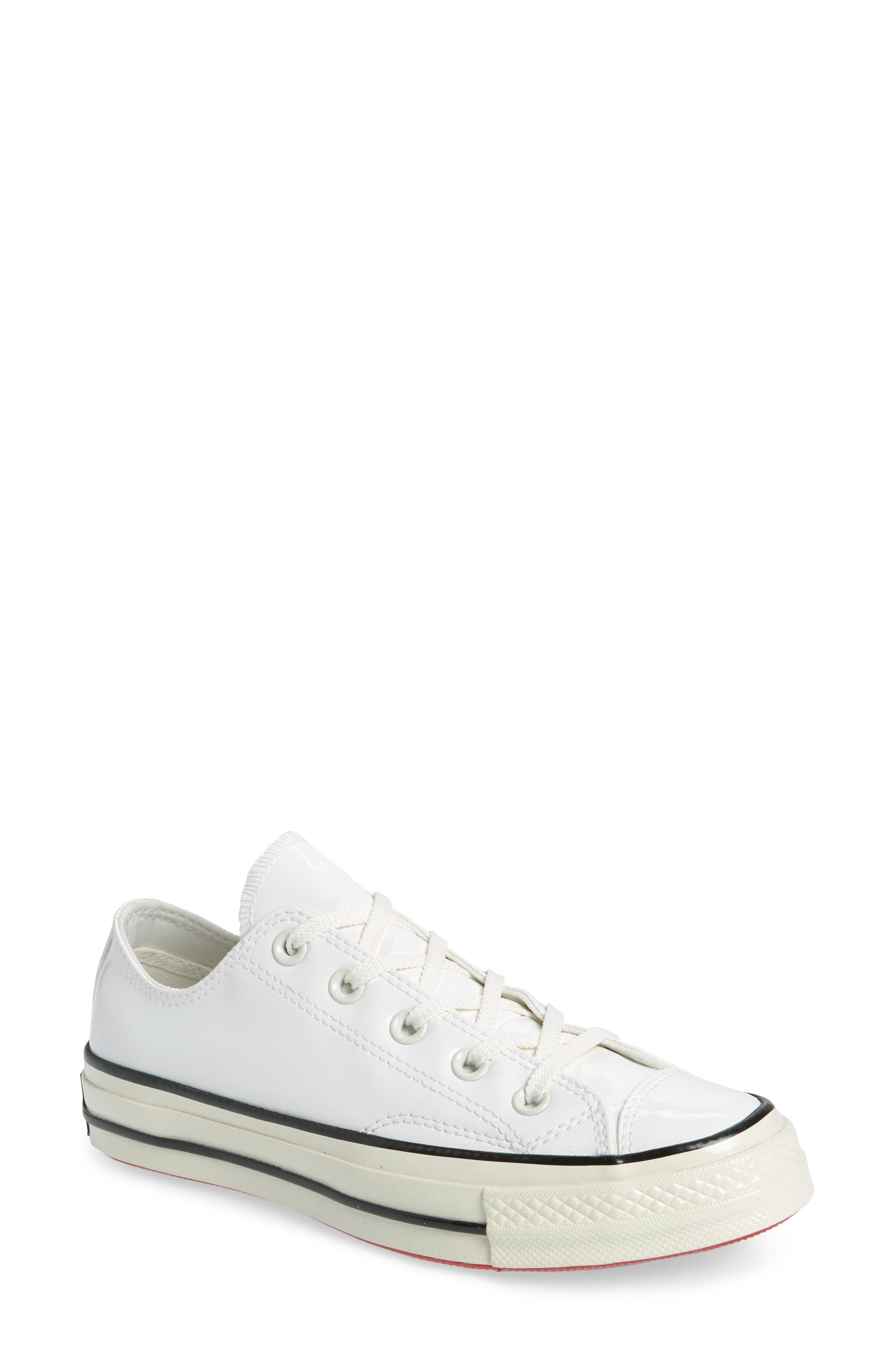 f3491a0f7af9 hot these white high top converse size 45711 8be38  coupon code converse  chuck taylor all star 70 patent low top sneaker women 62cdb a87aa