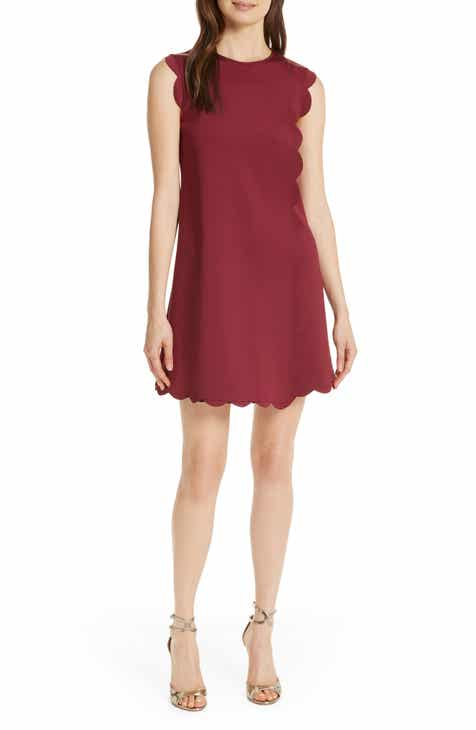 74736992fd1dd4 Ted Baker London Jasmint Scallop Overlay Dress
