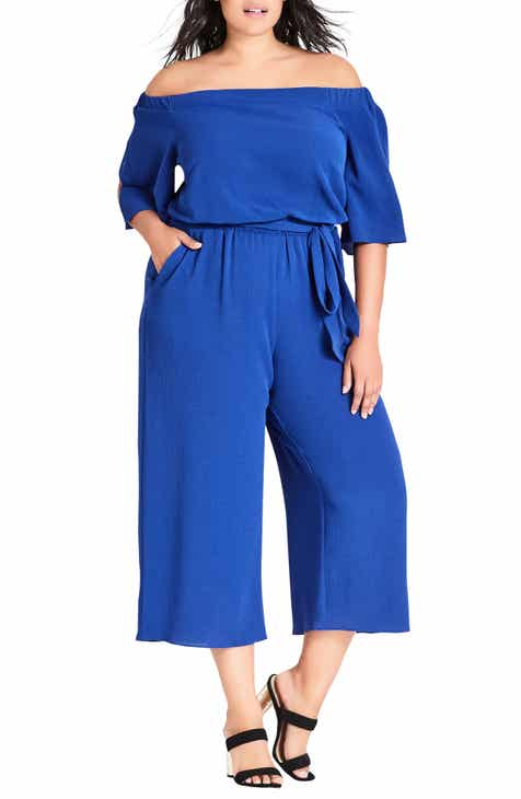 26d48f7f4ff City Chic Women s Rompers   Jumpsuits Plus-Size Clothing