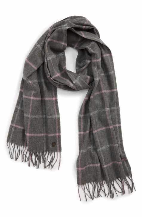 8237caeb6 Ted Baker London Window Check Fringed Scarf