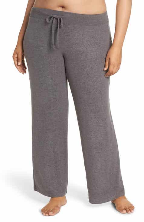 7536cb08342f6 Make + Model  Best Boyfriend  Brushed Hacci Lounge Pants (Plus Size)