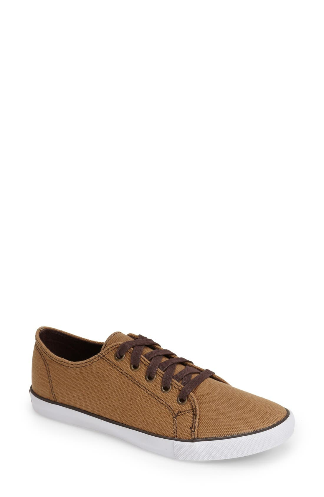 'Strand' Sneaker,                         Main,                         color, Brush Brown Canvas