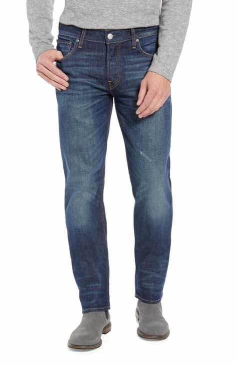 Hudson Dillon Straight Leg Jeans (Edgeview)