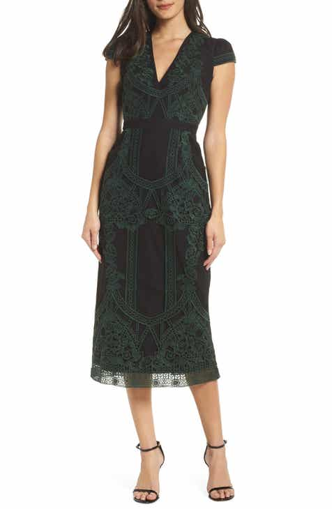 1950e3dd235 Foxiedox Remmy Embroidered Midi Dress