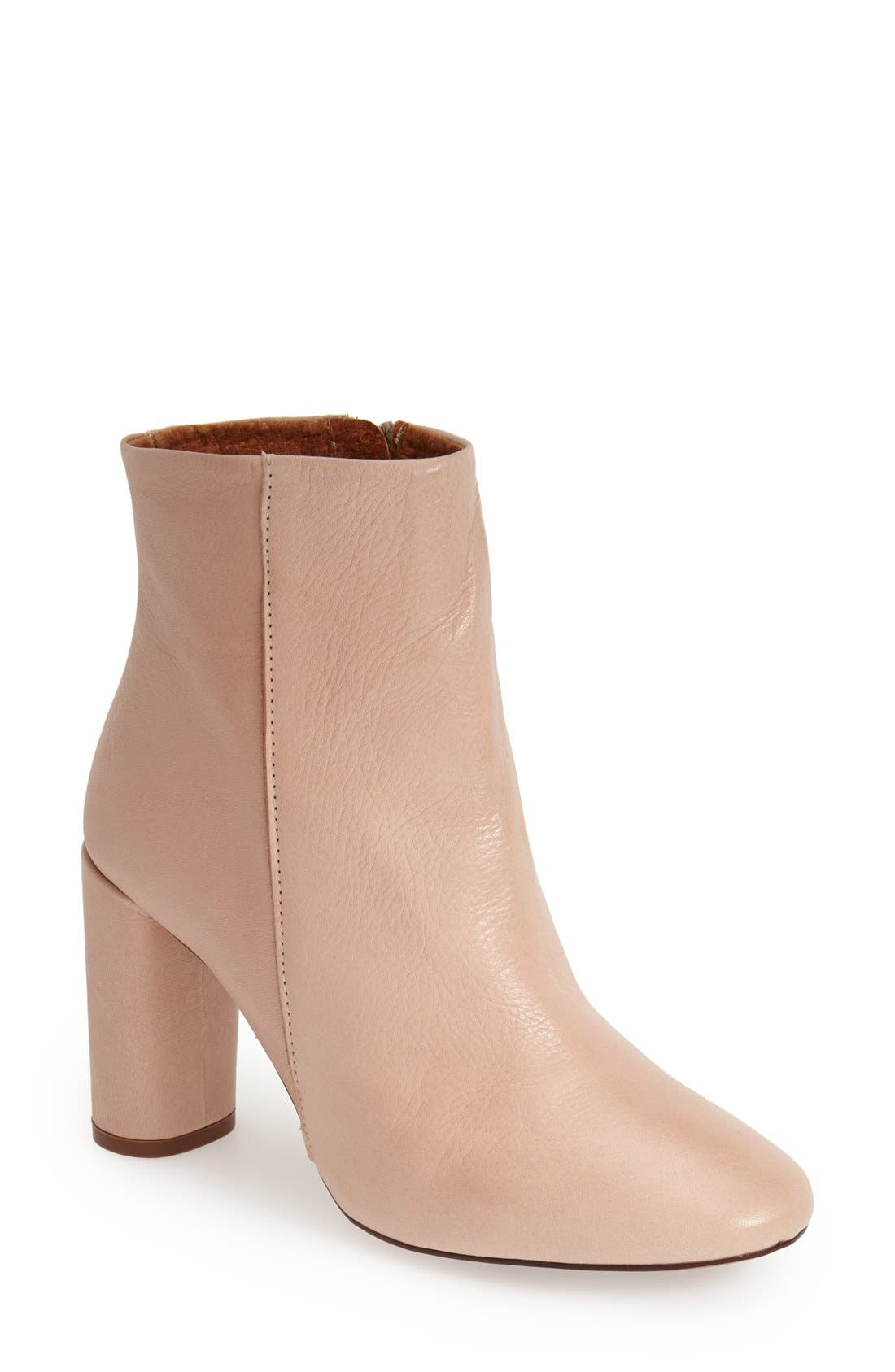 Main Image - Topshop 'Magnum' Leather Ankle Boot (Women)