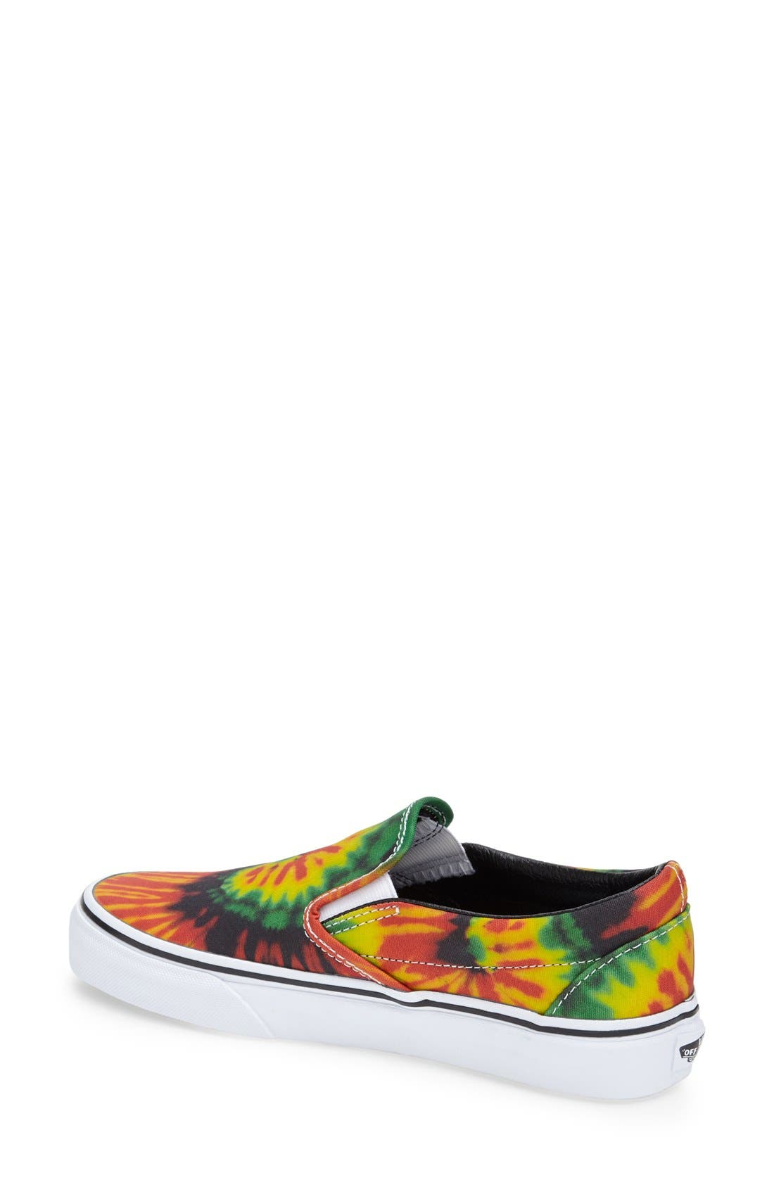 Alternate Image 2  - Vans 'Tie Dye' Slip-On Sneaker (Women)