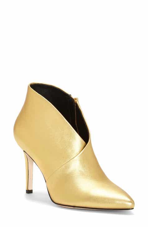 afcbf98140c Women s Metallic Booties   Ankle Boots