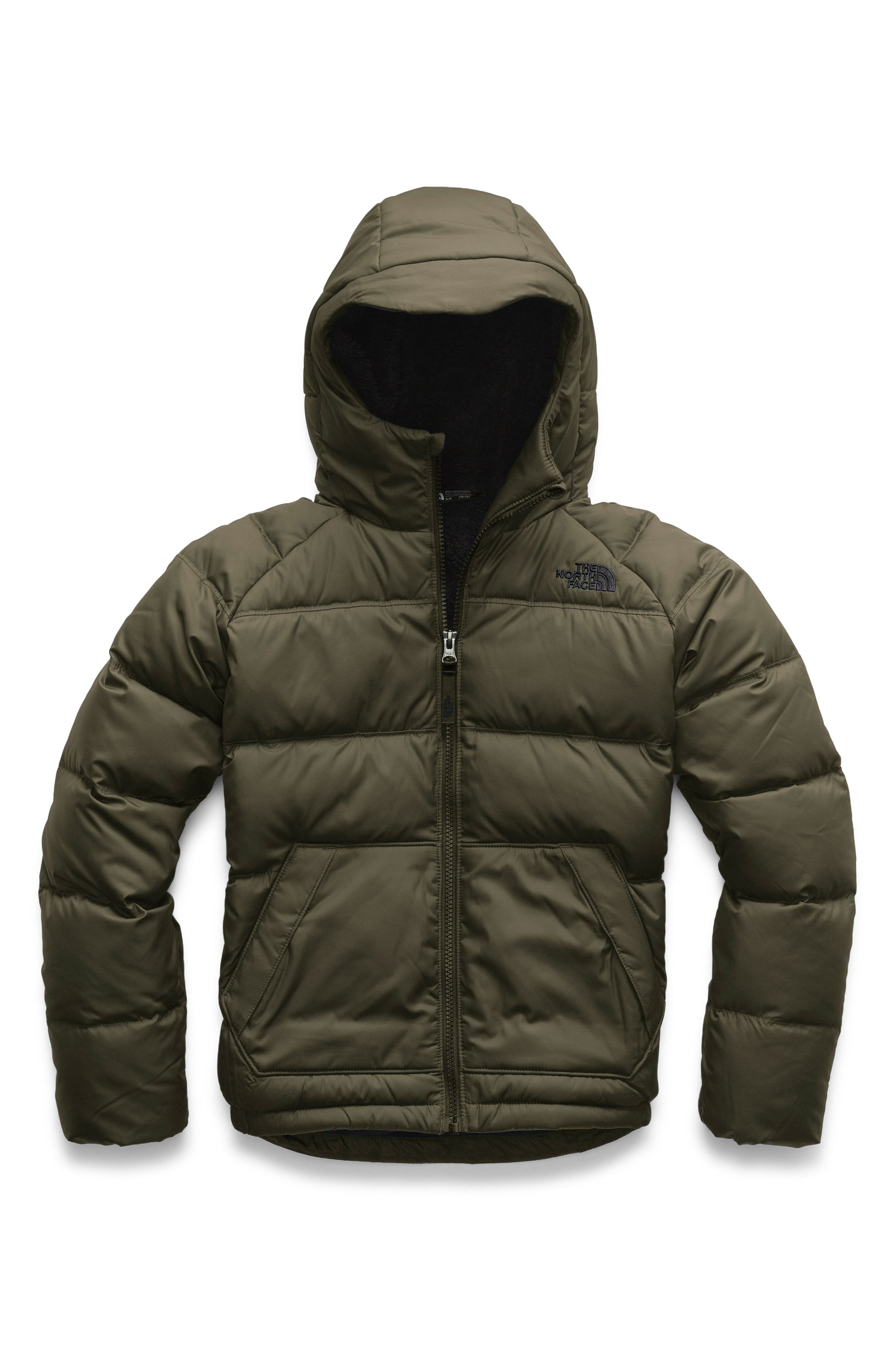... closeout the north face moondoggy 2.0 water repellent down jacket big  boys cc278 a34ff 8599732e0